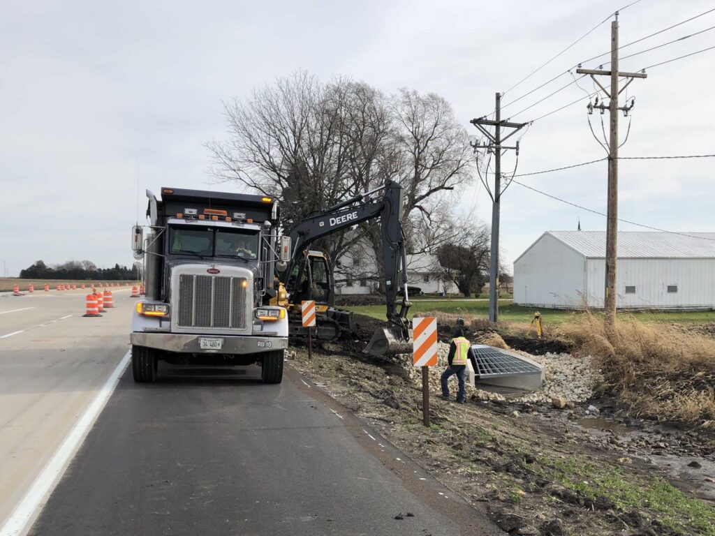 IL38-I39-Interchange-Roadway-Reconstruction-Illinois-Department-of-Transportation-District-2-IDOT-preliminary-engineering-studies-contract-plan-truck-semi